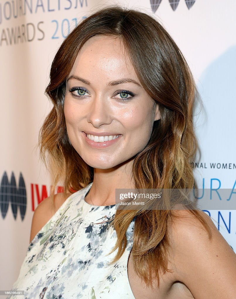 Co-host Olivia Wilde attends the International Women's Media Foundation's 2013 Courage in Journalism Awards at the Beverly Hills Hotel on October 29, 2013 in Beverly Hills, California.