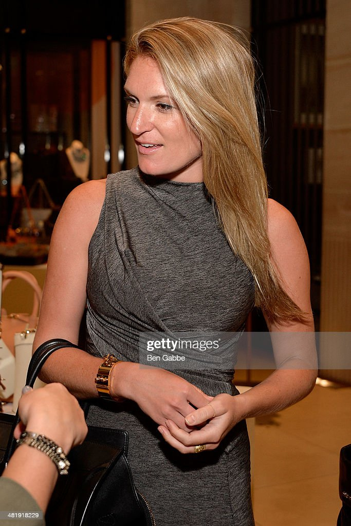 Co-host Sarah Arison attends YoungArts New York 2014 Kick Off Event at Henri Bendel 5th Avenue on April 1, 2014 in New York City.