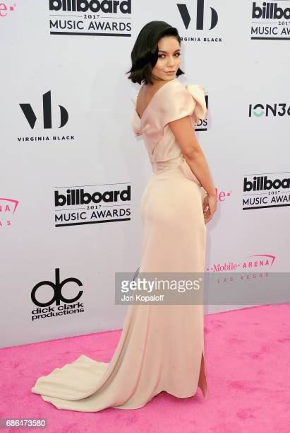 CoHost Vanessa Hudgens attends the 2017 Billboard Music Awards at TMobile Arena on May 21 2017 in Las Vegas Nevada