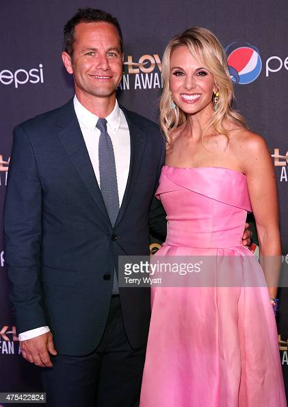 Cohosts Kirk Cameron and Elisabeth Hasselbeck attend the 3rd Annual KLOVE Fan Awards at the Grand Ole Opry House on May 31 2015 in Nashville Tennessee