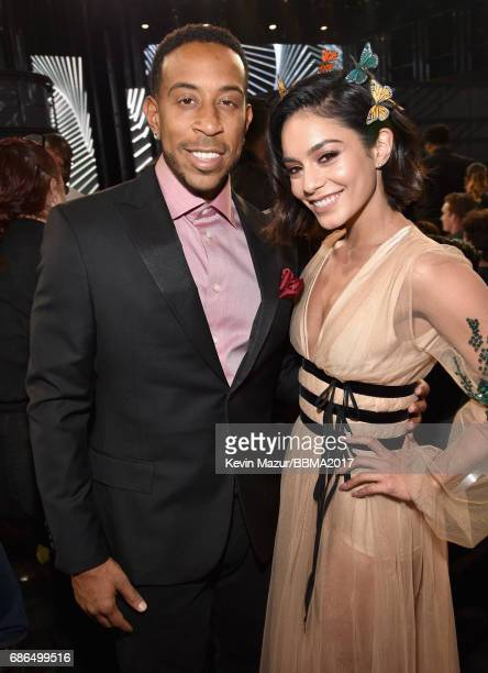 Cohosts Ludacris and Vanessa Hudgens attend the 2017 Billboard Music Awards at TMobile Arena on May 21 2017 in Las Vegas Nevada