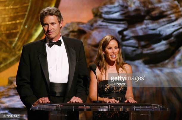 Cohosts Michael Nouri and Melissa Rivers during The 18th Annual Genesis Awards and 50th Anniversary of the Humane Society of the United States Show...
