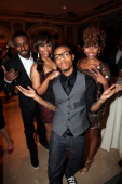 Cohosts of BET's '106 Park' Shorty Da Prince Kimberly 'Paigion' Walker Bow Wow and Miss Mykie attend the 2012 Children's Rights Benefit at The Plaza...