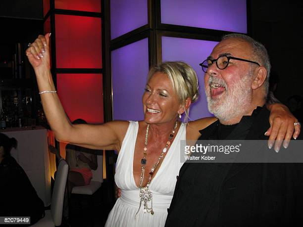 Coiffeur Udo Walz and TV host Sabine Christiansen attend the wedding celebrations of Udo Walz and his partner Carsten Thamm at the China Club on July...