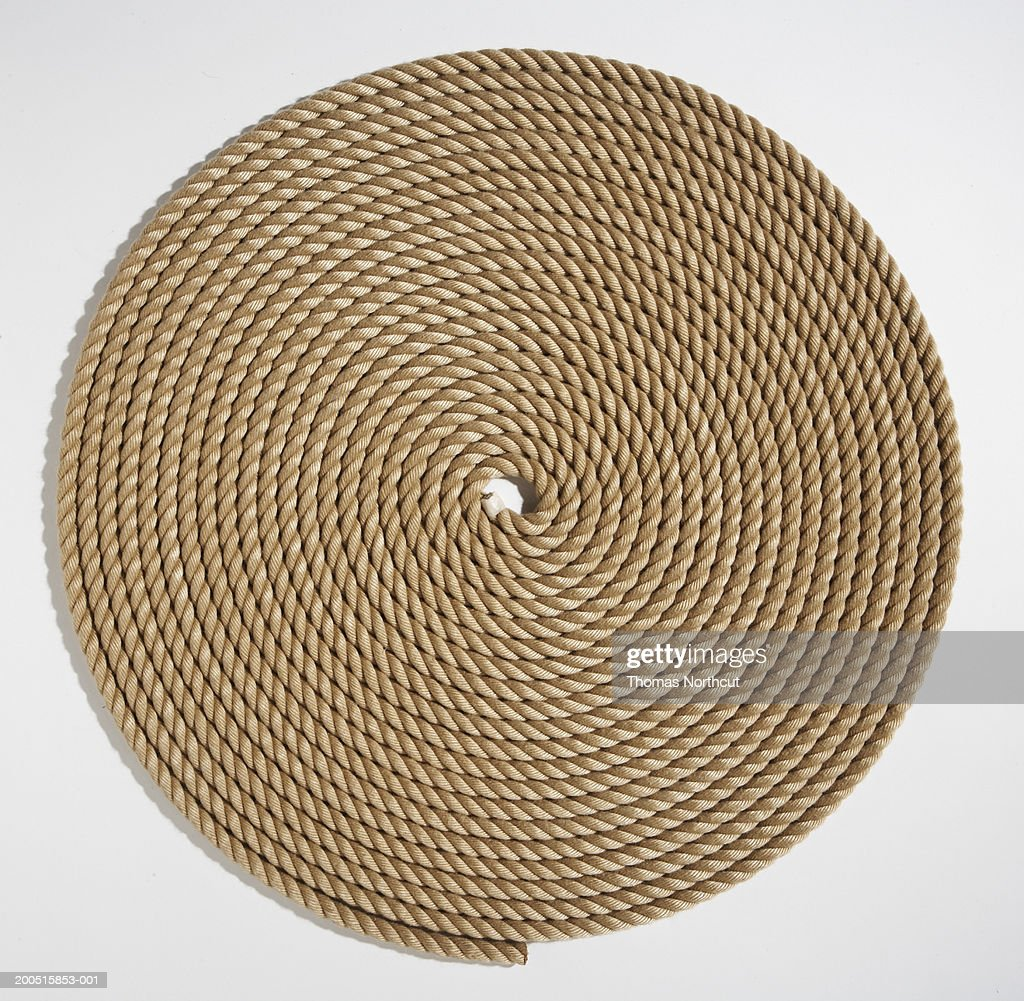 Coiled rope : Stock Photo