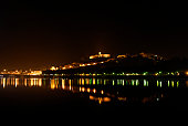 Coimbra night view.