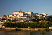 Coimbra Town and Mondego River