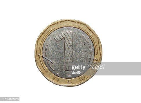 Münze 1 Lew Bulgarien Stock Foto Thinkstock
