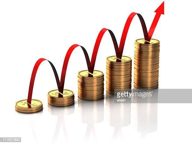 Münze Business-Grafik