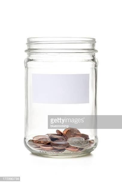 Münze Einmachglas