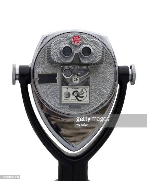 Machine à pièces de monnaie binoculaire