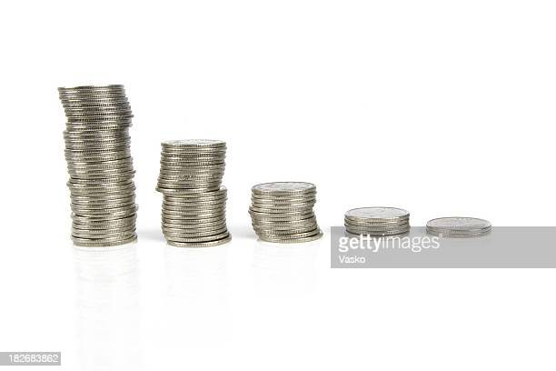 Coins - 5 stacks