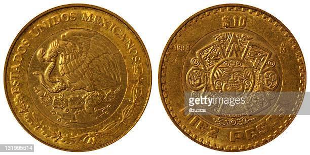 Monedas Macro - 10 Pesos mexicanos