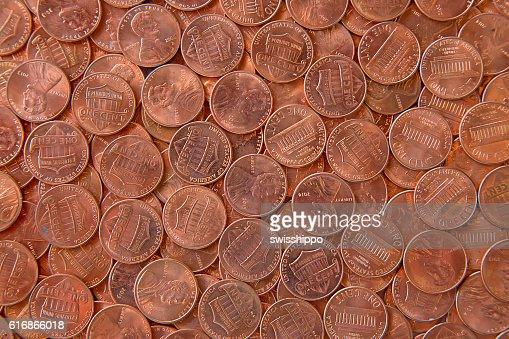 US Coins : Stock Photo