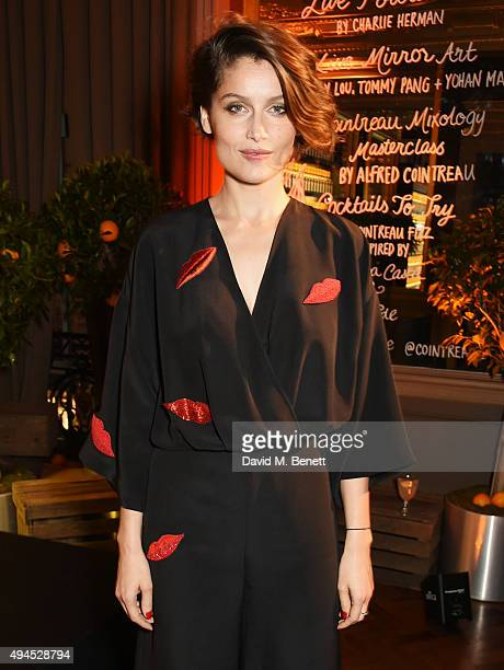 Cointreau's creative director Laetitia Casta attends the launch of the Cointreau Creative Crew a worldwide programme to champion creative women which...