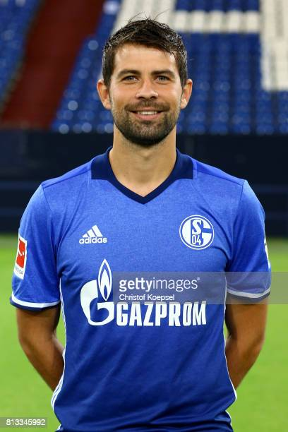 Coke of FC Schalke 04 poses during the team presentation at Veltins Arena on July 12 2017 in Gelsenkirchen Germany