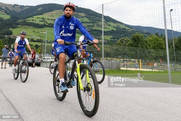 Coke of Schalke Coke of Schalke looks on during the Training Camp of FC Schalke 04 on July 29 2017 in Mittersill Austria