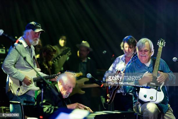 Col Bruce Hampton performs on stage during Hampton 70 at The Fox Theatre on May 1 2017 in Atlanta Georgia
