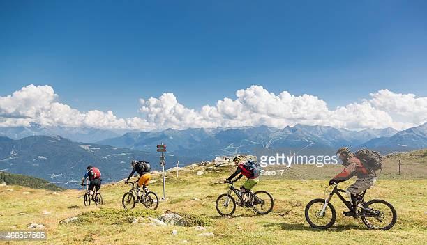 Col d'Anzana downhill, Switzerland