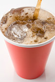 Cola In Paper Cup