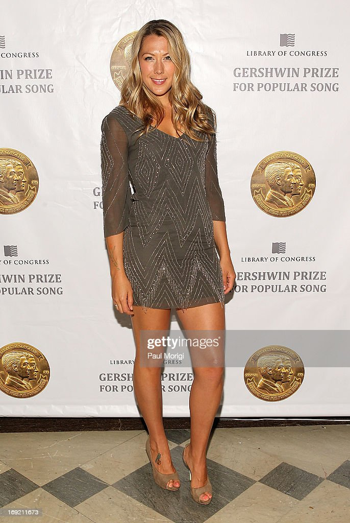 <a gi-track='captionPersonalityLinkClicked' href=/galleries/search?phrase=Colbie+Caillat&family=editorial&specificpeople=4410812 ng-click='$event.stopPropagation()'>Colbie Caillat</a> arrives at the 2013 Library Of Congress Gershwin Prize Tribute Concert at the Thomas Jefferson Building on May 21, 2013 in Washington, DC.