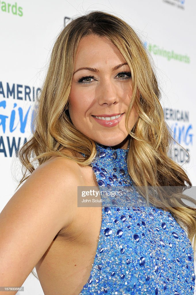 Colbie Caillat arrives at the American Giving Awards presented by Chase held at the Pasadena Civic Auditorium on December 7 2012 in Pasadena...