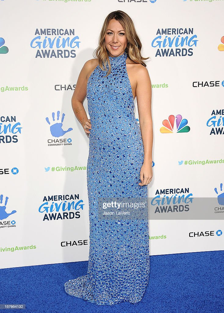 Colbie Caillat attends 2012 American Giving Awards at Pasadena Civic Auditorium on December 7, 2012 in Pasadena, California.