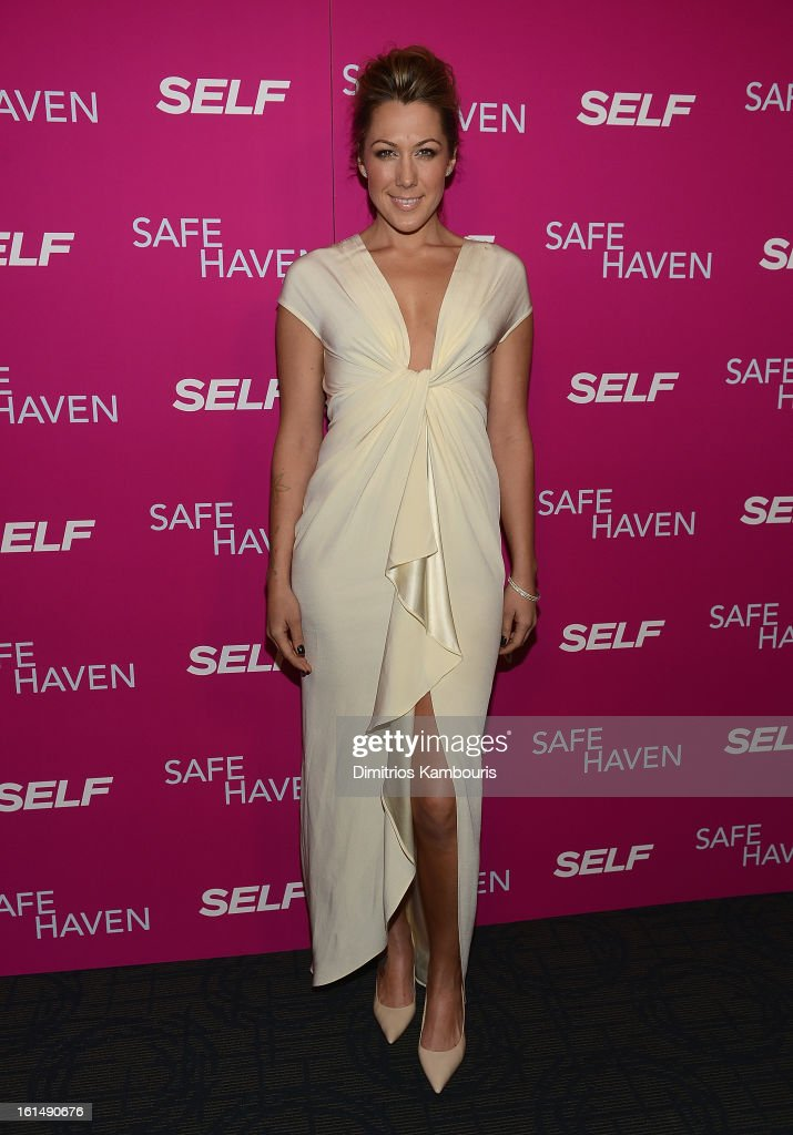 <a gi-track='captionPersonalityLinkClicked' href=/galleries/search?phrase=Colbie+Caillat&family=editorial&specificpeople=4410812 ng-click='$event.stopPropagation()'>Colbie Caillat</a> attends 'Safe Haven' New York Screening at Sunshine Landmark on February 11, 2013 in New York City.