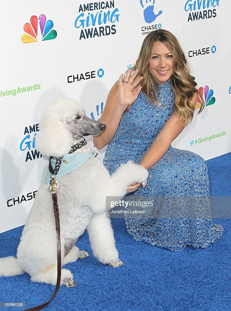 Colbie Caillat attends the 2nd Annual American Giving Awards Arrivals at Pasadena Civic Auditorium on December 7 2012 in Pasadena California