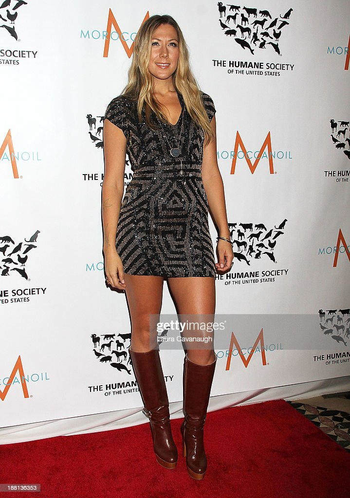 Colbie Caillat attends The Humane Society Of The United States' To the Rescue 2013 Gala at Cipriani 42nd Street on November 15 2013 in New York City