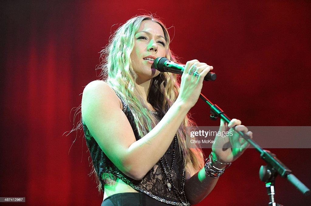 Colbie Caillat performs during the 2013 Star 94 Jingle Jam at Arena at Gwinnett Center on December 16, 2013 in Duluth, Georgia.