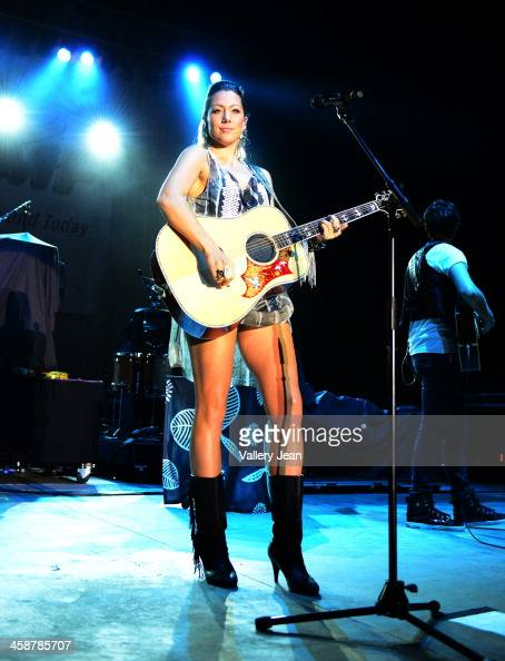 Colbie Caillat performs in the 7th Annual No Snow Ball concert presented by 979 WRMF and Sunny 1079 at Mizner Park Amphitheatre on December 14 2013...