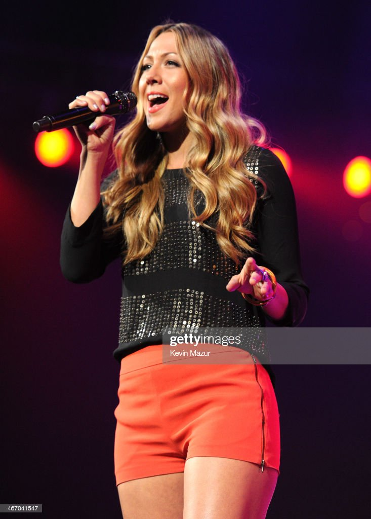 Colbie Caillat performs onstage during the Amnesty International Concert presented by the CBGB Festival at Barclays Center on February 5 2014 in New...