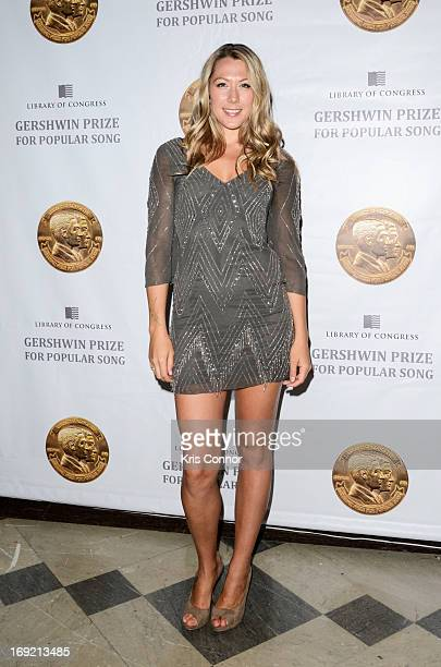 Colbie Caillat poses for a photo during the 2013 Library Of Congress Gershwin Prize Tribute Concert at the Thomas Jefferson Building on May 21 2013...