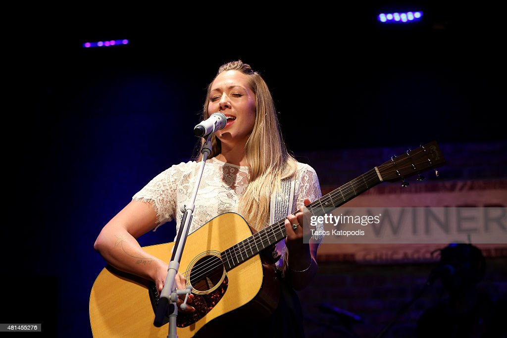 Colbie Caillat preforms at City Winery Chicago on July 20 2015 in Chicago Illinois