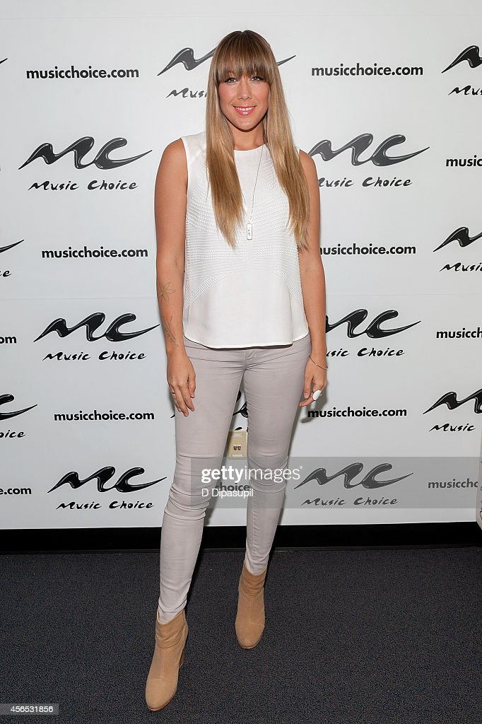 Colbie Caillat visits Music Choice's 'You A' at Music Choice on October 2 2014 in New York City