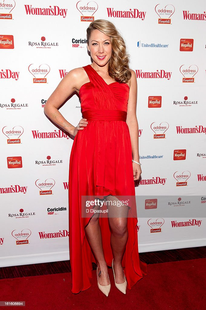 Colbie Callait attends the 10th Annual Red Dress Awards at Jazz at Lincoln Center on February 12, 2013 in New York City.