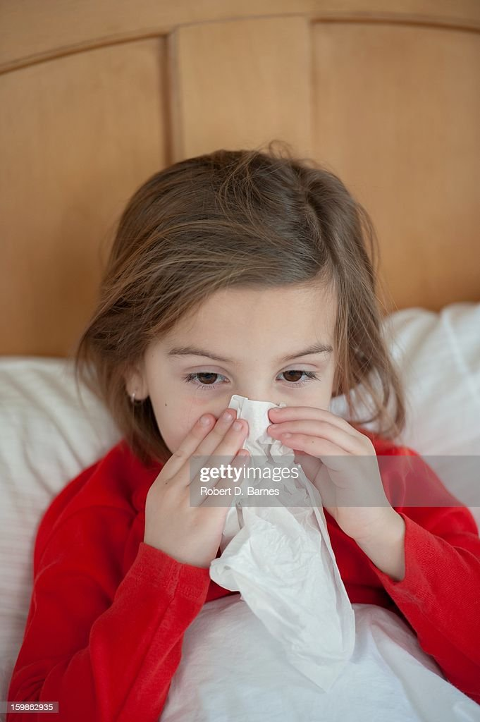 Cold and Flu Season : Stock Photo