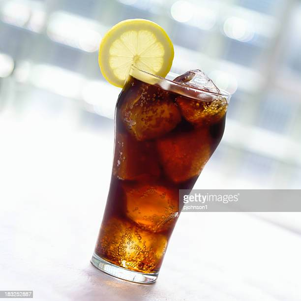 Cold cola with Lemon