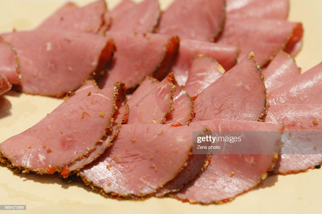 Cold cut beef