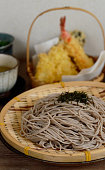 Soba is the Japanese name for buckwheat. It usually refers to thin noodles made from buckwheat flour, or a combination of buckwheat and wheat flours.