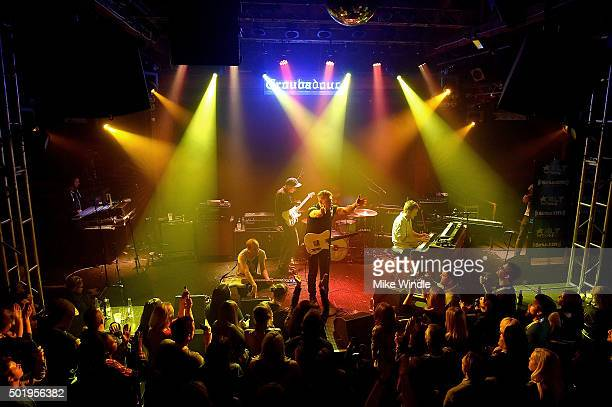 Cold War Kids performs onstage during a private concert for SiriusXM subscribers on December 18 2015 in West Hollywood California