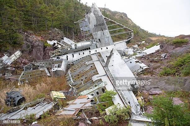 Cold War-era aircraft crash site
