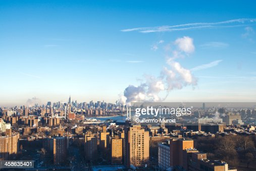 Cold winter day in New York