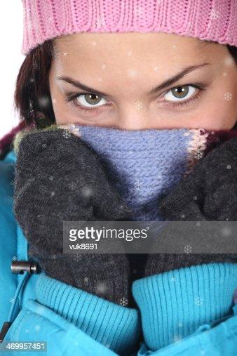 Cold winter : Stock Photo
