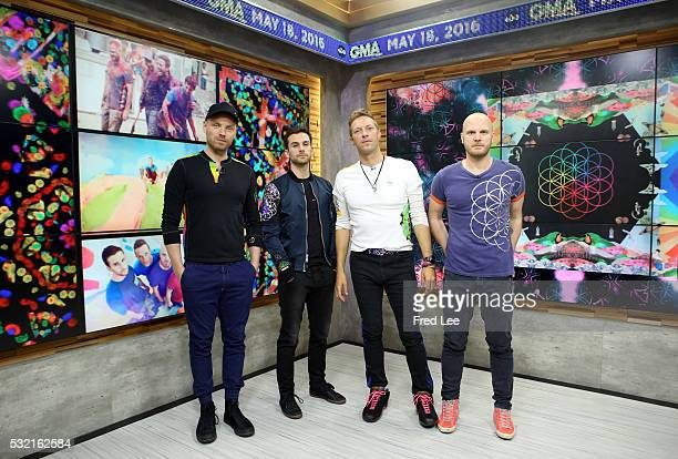 AMERICA Coldplay performs live on 'Good Morning America' 5/18/16 airing on the ABC Television Network COLDPLAY