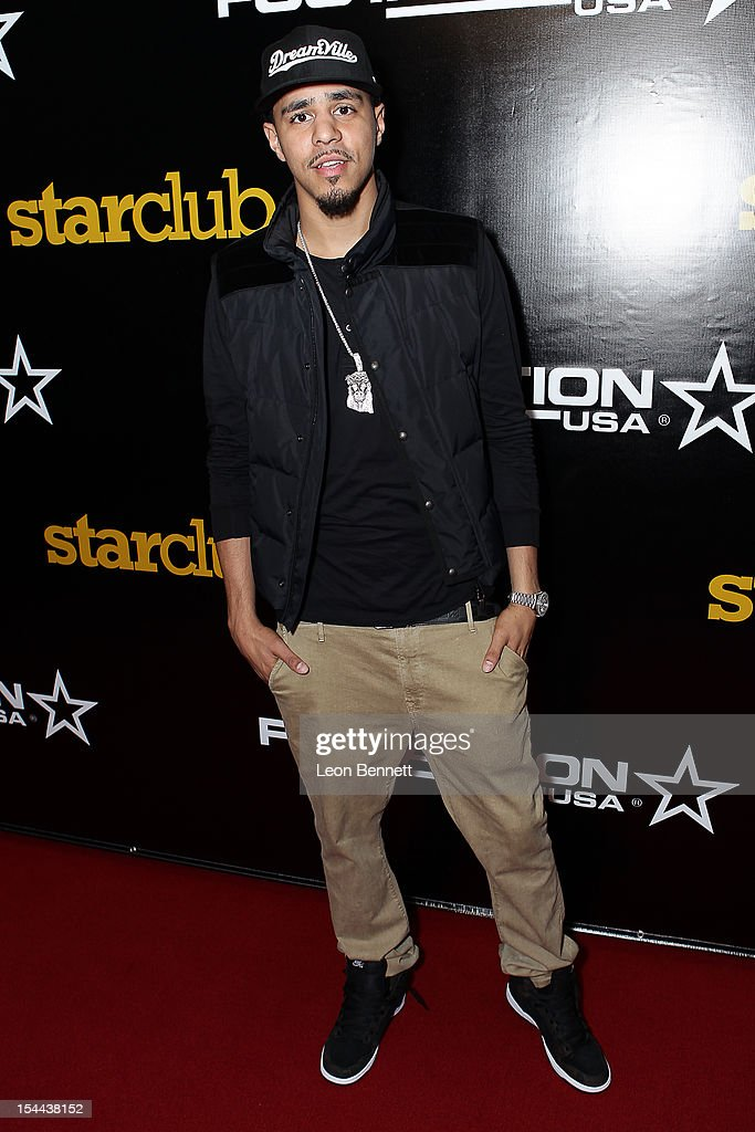 "J. Cole Performs At Footaction's ""Own The Stage"" Celebration"