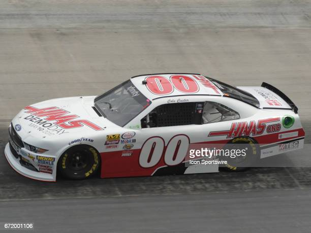 Cole Custer Haas Automation StewartHaas Ford Mustang during practice for the Xfinity Series Fitzgerald Glider Kits 300 on April 21 at Bristol Motor...