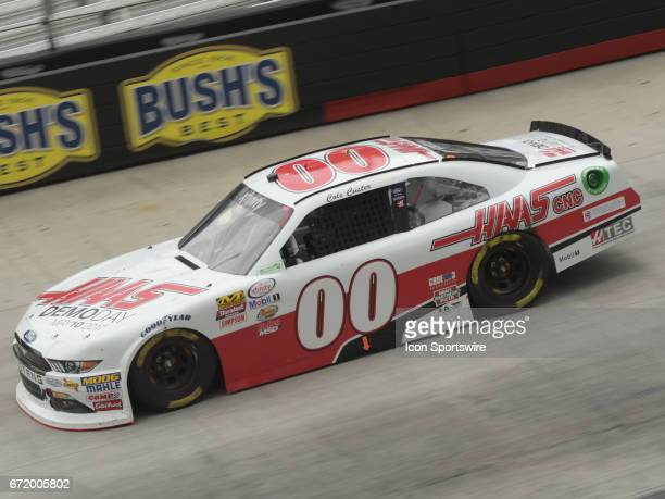 Cole Custer Haas Automation StewartHaas Ford Mustang during the Xfinity Series Fitzgerald Glider Kits 300 on April 22 at Bristol Motor Speedway in...