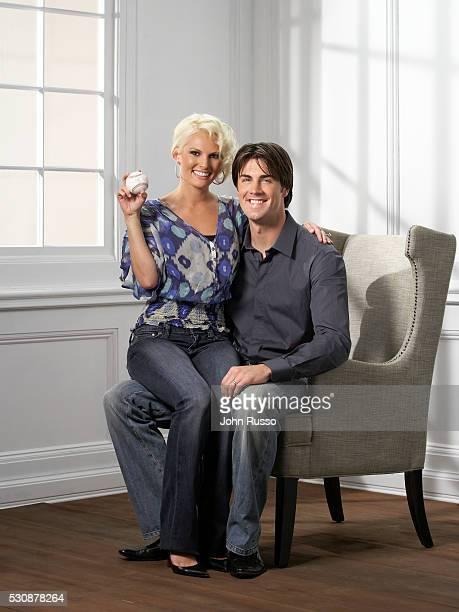 Cole Hamels and Heidi Hamels